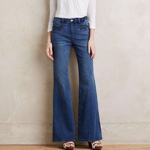 Anthropologie flare jeans